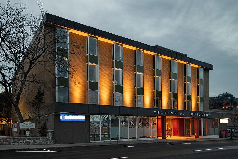 Centennial Building Exterior